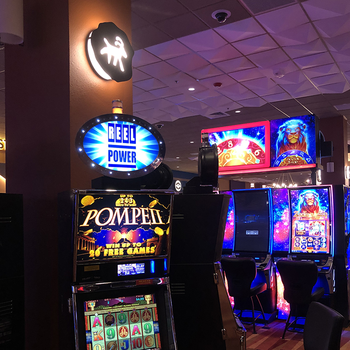 the best slot machines and vegas style games in bishop