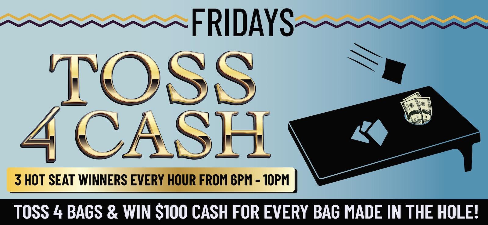 wanaaha casino toss 4 cash