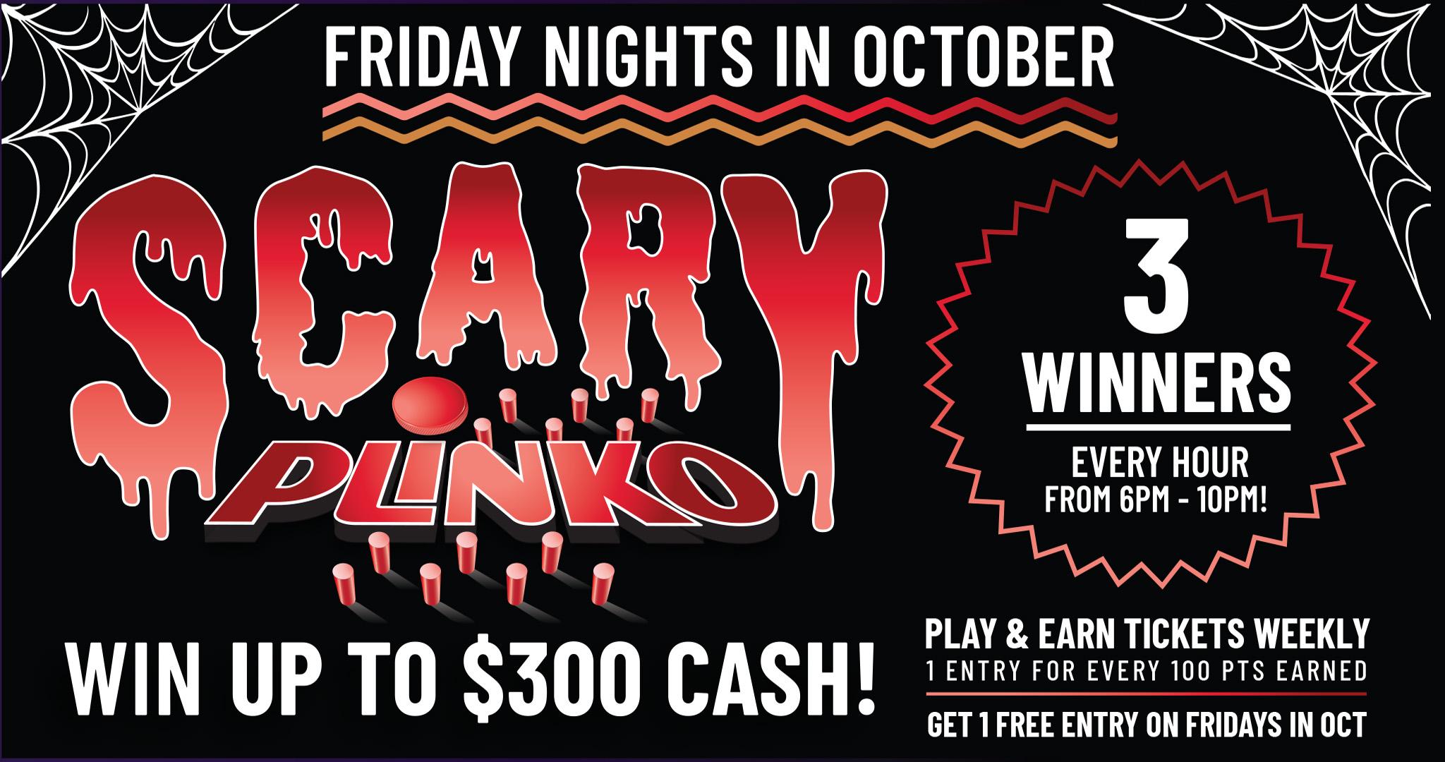 Wanaaha Casino Scary Plinko